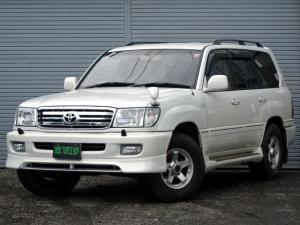 トヨタ ランドクルーザー100 VXリミテッド ディーゼルT 寒冷地仕様 背面レス ナビTV