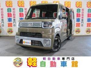 ダイハツ ウェイク G SA ターボ ナビ・TV ABS 両側パワスラ 4WD