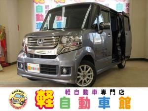 ホンダ N-BOX+カスタム G・Lパッケージ ナビTV ABS パワスラ 4WD アイドルSTOP スマキー