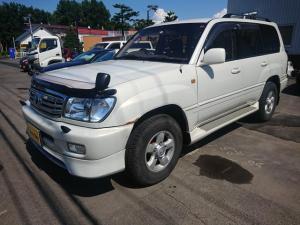 トヨタ ランドクルーザー100 VXリミテッド 4WD 純正アルミ ナビ・TV