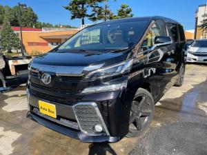 トヨタ ヴェルファイア 2.5X ナビ TV ETC Bluetoothオーディオ 3列シート 1年保証付き サイドリフトアップシート パワースライドドア 社外20インチアルミ コーナーセンサー 新品タイヤ付