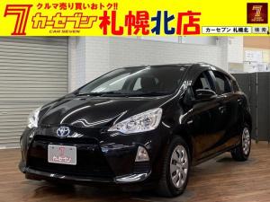 トヨタ アクア S カーナビ地デジキーレスHIDワイパーデアイサー電動格納ミラー