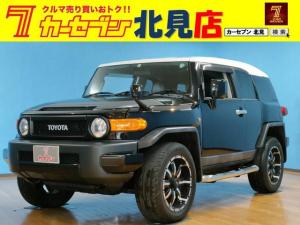 トヨタ FJクルーザー カラーパッケージ カーナビバックカメラ地デジテレビキーレス横滑り防止機能パーキングソナー4WD