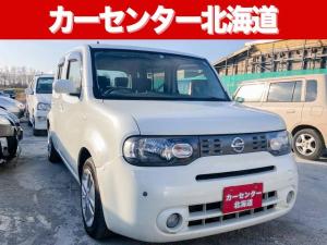 日産 キューブ 4WD 1年保証 禁煙車 寒冷地仕様