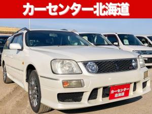 日産 ステージア 25t RS FOUR V 4WD 1年保証 ETC 禁煙車