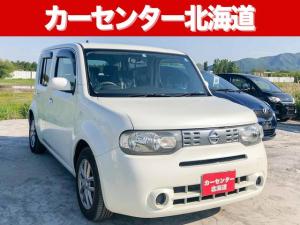 日産 キューブ 15X FOUR Mセレ 4WD 1年保証 スマキー ナビ