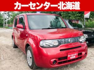 日産 キューブ 15X FOUR 4WD 1年保証  スマキー エンスタ