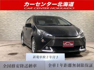 トヨタ アクア G G's 1年保証 キーレス ETC 寒冷地仕様 禁煙車