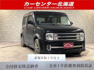日産 キューブ ライダー 4WD 1年保証 ナビTV ETC キーレス 寒冷地仕様 禁煙車