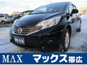日産 ノート X FOUR 4WD 純正ナビ・TV・CD ETC インテリキー プッシュスタート