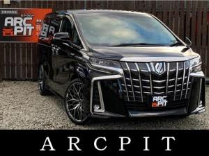 トヨタ アルファードハイブリッド SR 4WD・新品11インチナビ・12.7リアモニター・バックカメラ・シートヒーター・シートエアコン・オットマン・パワーシート・バックカメラ・スマートキー・アイドリングストップ・Bluetooth接続