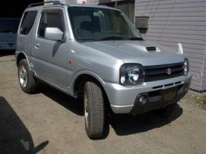 スズキ ジムニー XC ターボ 4WD オートマ ルーフレール HDDナビ