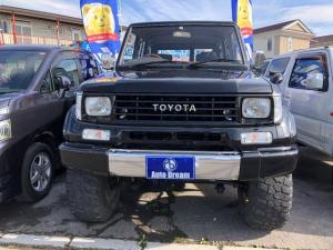 トヨタ ランドクルーザープラド SXワイド 4WD1ナンバー登録リフトアップ車