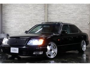 トヨタ セルシオ B仕様eRバージョン後期x本州仕入x車高調x黒革シートxSR