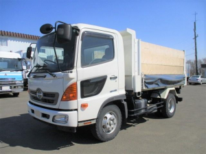 日野 レンジャー  4tダンプ 車検付令和3年12月迄 差し枠付 積載3,750kg