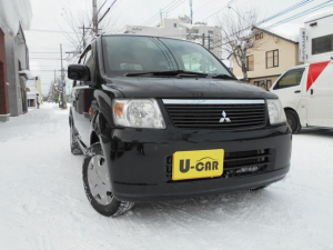 三菱 eKワゴン M 4WD ナビテレビ 夏冬タイヤ