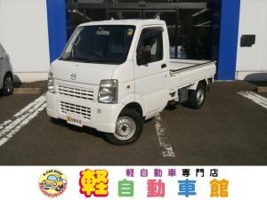 マツダ スクラムトラック KCパワステ AC無 4WD マニュアル車