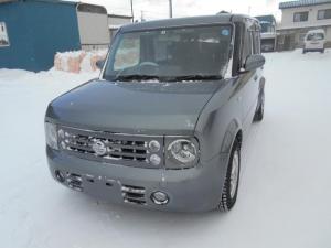 日産 キューブキュービック 15S FOUR 4WD/タイベルチェーン/HDDナビ/バックカメラ/切り替え式4WD/エンジンスターター/純正アルミ/スマートキー/ベンチシート/DVD再生可/ETC/ライトレベライザー/電動格納ミラー/ABS/
