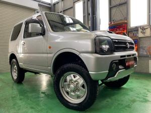 スズキ ジムニー XG 4WD ターボ リフトアップ 社外ナビ フルセグ