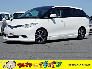 トヨタ エスティマ G 夏冬タイヤ付 サビ無 フリップD 後カメラ