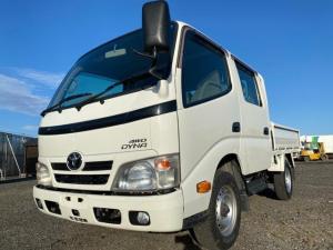 トヨタ ダイナトラック Wキャブ 4WD シングルタイヤ 5MT 積載1t 総重量4t未満 6人乗り ディーゼル車 型式LDF-KDY281