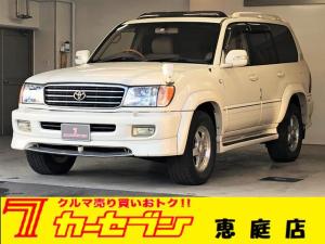 トヨタ ランドクルーザー100 VXリミテッド Gセレクション4WD ディーゼル エンスタ