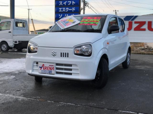 スズキ アルト L 4WD CVT アイドリングストップ CD シートヒータ