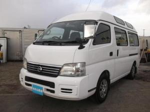 日産 キャラバンバス  チェアキャブ10人乗り 貨物登録6人乗り変更可能 4WDディーゼル