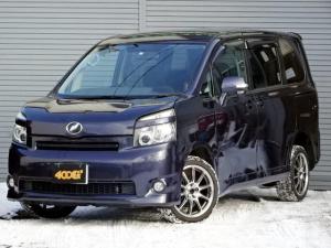 トヨタ ヴォクシー トランス-X 4WD 5人乗り パワースライドドア ナビ地デジ Bカメラ