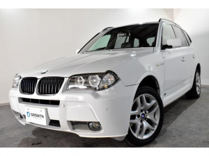 BMW X3 2.5si MスポーツパッケージI 2.5si Mスポーツパッケージ Mスポーツ専用フロントバンパー Mスポーツ専用リアバンパー Mスポーツ専用サイドスカート ブラックレザーシート ヒートヒーター パワーシート ミラー一体型ETC