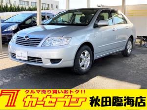 トヨタ カローラ X 純正ナビ キーレス 夏冬タイヤ 禁煙車 電動格納ミラー