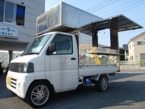 三菱 ミニキャブトラック ベースグレード 脱着式販売BOX