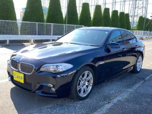 BMW 5シリーズ 523i Mスポーツパッケージ ワンオーナー Mスポーツ ナビ TV バックカメラ 18インチアルミ パドルシフト プッシュスタートボタン アイドリングストップ 6ヶ月保証付き ブルブラ