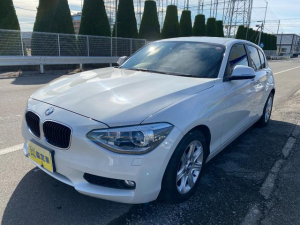 BMW 1シリーズ 116i Goo鑑定車 ナビ TV DVD BT 禁煙車 6ヶ月保証付き スマートキー アイドリングストップ HID パールホワイト ドラレコ