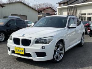 BMW X1 sDrive 18i Mスポーツ SDナビ TV バックカメラ DVD BT 純正ミラーETC 禁煙車 6ヶ月保証付き