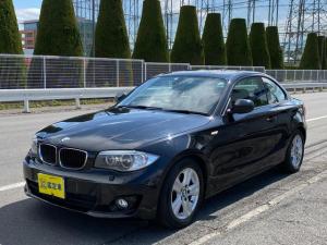 BMW 1シリーズ 120i ハイラインパッケージ Goo鑑定車 禁煙車 ヒーター付き皮シート ナビ DVD HID ミラー型ETC キーレス2個 パドルシフト 6ヶ月保証付き