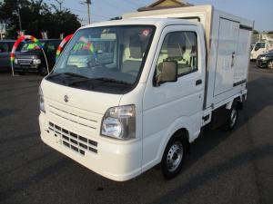 スズキ キャリイトラック ベースグレード・中温冷凍車1WAY・4WD・オートマ