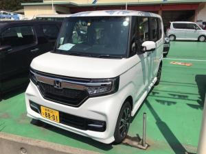 ホンダ N-BOXカスタム G・Lホンダセンシング 衝突軽減 リアカメラ 4WD ETC