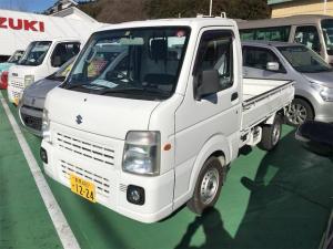 スズキ キャリイトラック FC農繁仕様 4WD MT 軽トラック ホワイト