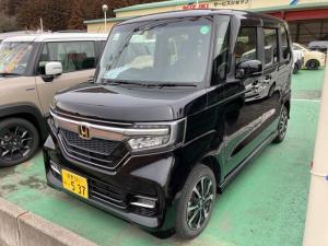ホンダ N-BOXカスタム G・Lホンダセンシング 4WD レーンキープ 衝突軽減 オートエアコン キーフリー リアカメラ