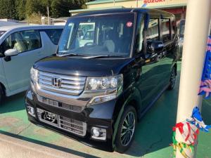 ホンダ N-BOXカスタム G・ターボパッケージ 4WD クルーズコントロール Bモニター DVD HID