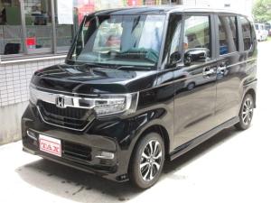 ホンダ N-BOXカスタム G・Lホンダセンシング ナビ新品 届出済未使用車