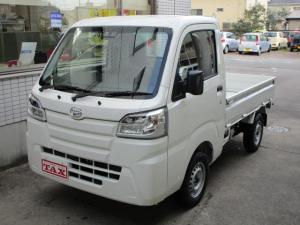 ダイハツ ハイゼットトラック スタンダードSAIIIt 4WD 衝突軽減ブレーキ LEDライト 届出済未使用車