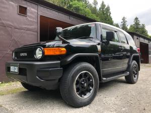 トヨタ FJクルーザー ブラックカラーパッケージ ワンオーナー車 ナビTV 4WD