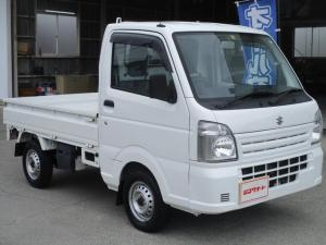 スズキ キャリイトラック KCエアコン・パワステ 4WD 走行13197Km AT車 ETC エアコン パワステ 三方開 ドアバイザー 車検令和4年4月