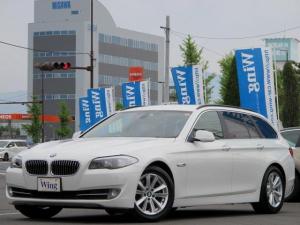 BMW 5シリーズ 523iツーリングハイライン ベージュレザー シートヒーター