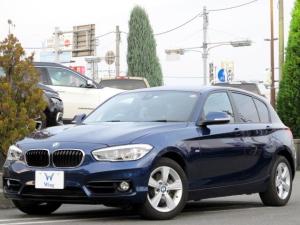 BMW 1シリーズ 118d スポーツ メーカーHDDナビ 地デジ用インターフェイス ミュージックサーバー Bカメラ レーンディパーチャー 衝突軽減 LEDライト クルーズコントロール 後席スモークガラス DVD再生 ETC Bトゥース