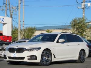 BMW 5シリーズ 523dツーリング Mスポーツ ハイラインパッケージ イノベーションPKG SR 1オーナ禁煙 黒革 ACC HUD アダプティブLEDヘッドライト 純正ナビ 360°カメラ シートヒータ メモリーPシート ブラインドスポットアシスト ソフトクローズドア