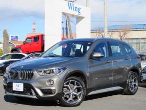 BMW X1 sDrive 18i xライン 禁煙車 HUD コンフォートアクセス パークディスタンスコントロール 純正HDDナビ Bカメラ 前後クリアランスソナー 電動トランク 純正18AW BTオーディオ ハーフレザー シートヒータ