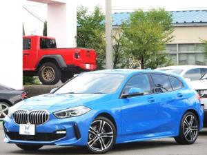 BMW 1シリーズ 118d Mスポーツ 禁煙 ACC インテリジェントセーフティー ブラインドスポット リア緊急ブレーキ  前後横コーナーセンサー ドラレコ 純正ナビ Bカメラ ETC ハーフレザーシート LEDヘッドライト 電動リアゲート